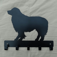 Border Collie key rack hook