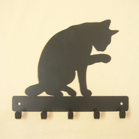 Cat key rack hook