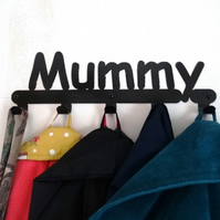 Mummy coat hook - 6 hooks