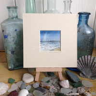 Small Original Painting: Impression of the sea