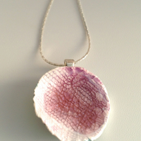 Rosey Porcelain Necklace