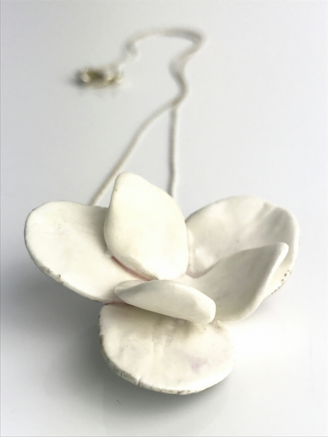 Blossom Porcelain Necklace