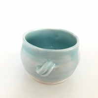 Porcelain Blue Cup