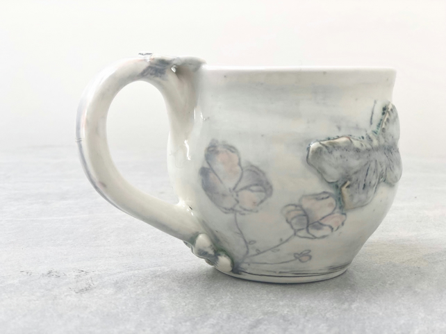 Winter White Ceramic Mug