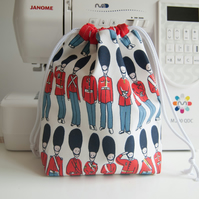 Toiletry Wash Bag - Waterproof Lining - Cotton Canvas - Cath Kidston - Guards
