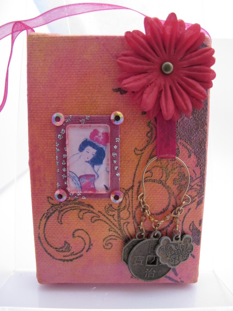 Oriental Inspired Mini Canvas