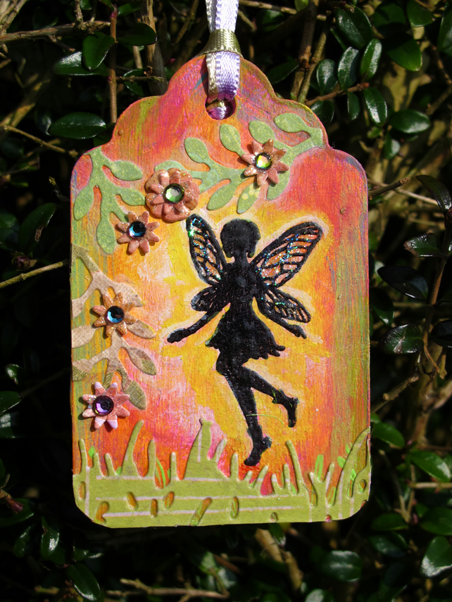 Tiny Garden Fairy Tag