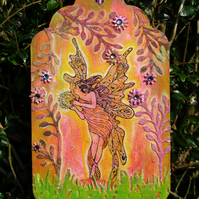 Forest Fairy Tag
