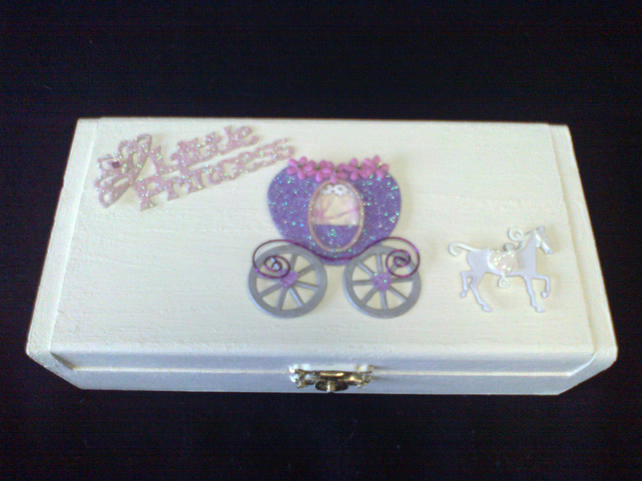 Wooden Princess Jewellery Box