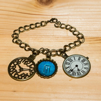 Doctor Who Inspired Time Lord Charm Bracelet