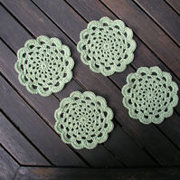 Crochet doilies set of 4