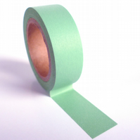 Pantone 573 Washi Tape 15mm x 10m Roll Soft Pale Green WT0012