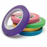 Skinny Bright Washi Tape Set of 5 Colours 5mmx10m Rolls WT0087S