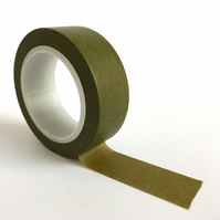 Pantone 456 Washi Tape 15mm x 10m Roll Deep Olive WT0010