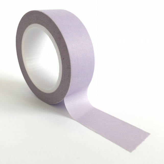 Pantone 2635 Washi Tape 15mm x 10m Roll Pale Pastel Violet WT0045