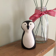 Ceramic Penguin Ornament
