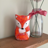 Ceramic Fox Ornament