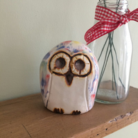 Ceramic Owl Ornament Pottery