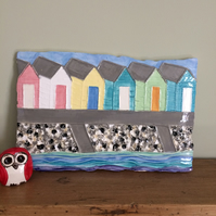 Ceramic 'Along The Prom' Wall Plaque