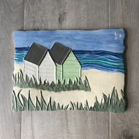 Ceramic 'Two For Joy' Wall Plaque