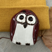 """Elsie"" - Ceramic Owl Home Decoration"