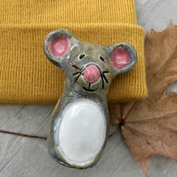 Ceramic Mouse Ornament