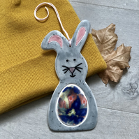 Ceramic Easter Decorations - Easter Bunny