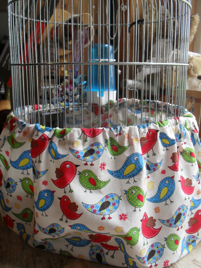 BIRD CAGE TIDY seed catcher cover