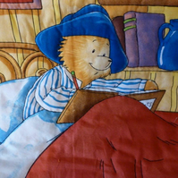 Paddington Bear Quilt, Playmat, Snuggle Blanket