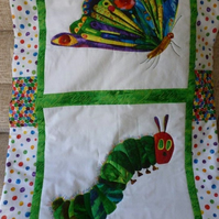 Very Hungry Caterpillar quilt or playmat