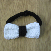 Cute Little Man Crochet BOW TIE Baby Boy Bowtie , Newborn Photo Prop  0-3 months