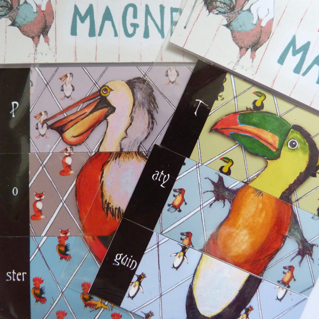 Magical Menagerie Magnets