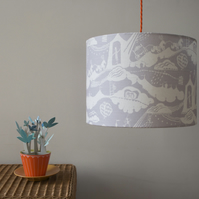 Enter the Magician Lampshade in Pebble