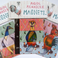 Magical Menagerie Magnets - Three Pack Set - Stocking Fillers