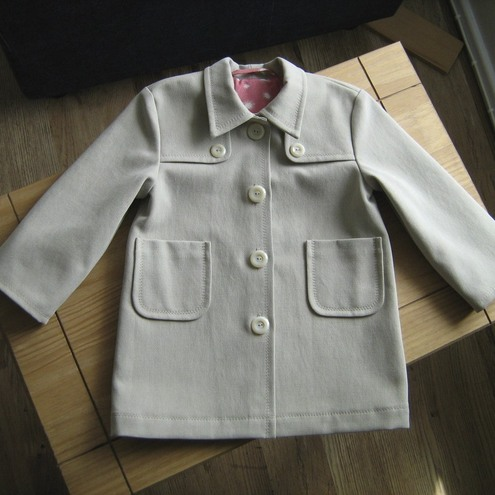 Coat for 2-4 years old girl