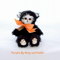 Pumpkin the Handmade Bear