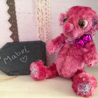 Mabel Handmade Collectible Bear