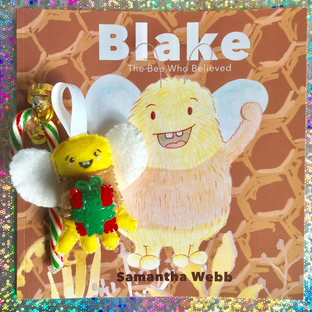 Blake The Bee Who Believed, Christmas Decoration Pack