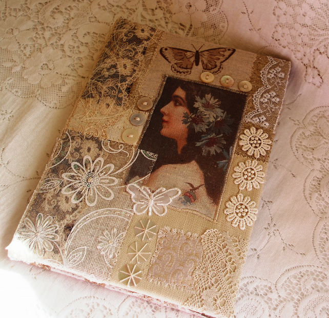 A5 Vintage style journal