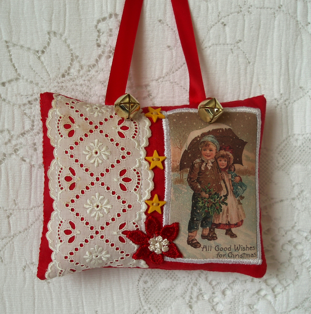 Reduced Christmas Decorations: REDUCED! Vintage Christmas Decoration (C)