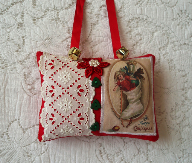Reduced Christmas Decorations: REDUCED! Vintage Christmas Decoration (A)