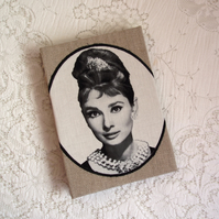 SALE! Notebook - Audrey Hepburn