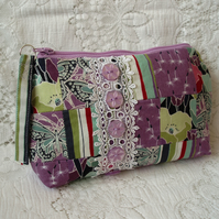Patchwork Make-up Purse