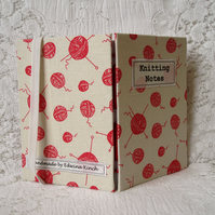 SALE! Knitting Notebook