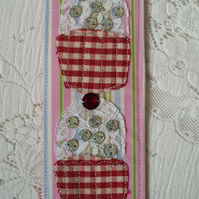 SALE! Bookmark - Cupcakes