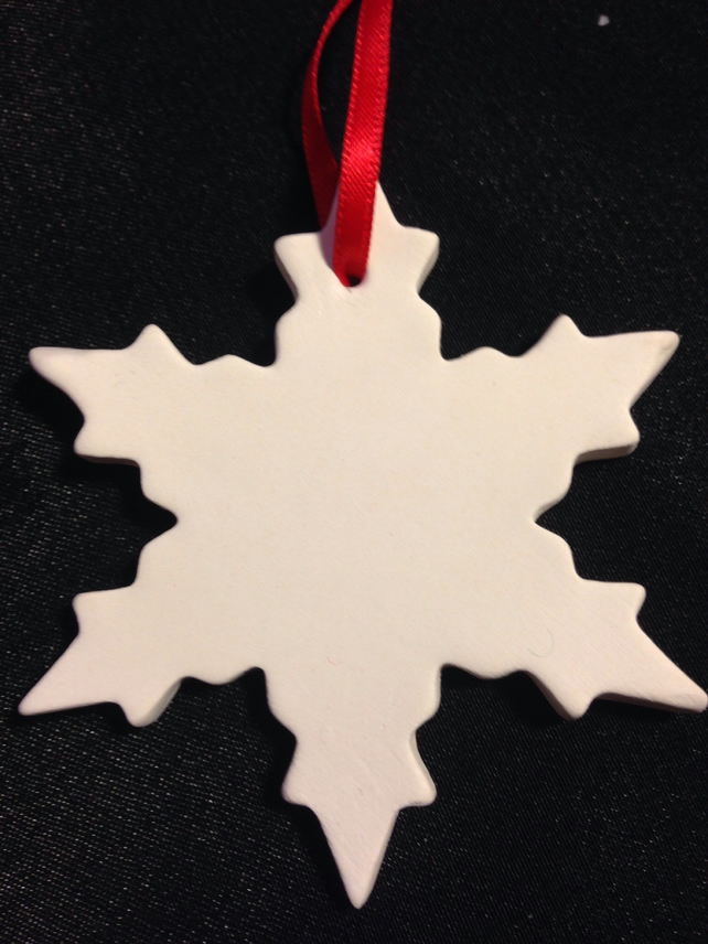 Christmas Decoration Snowflake RSF