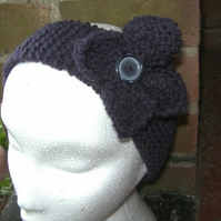 Flower Ear Warmer