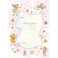 Fairy Thank-you Postcards