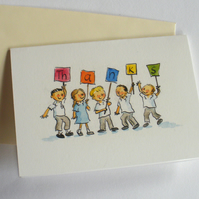 Teacher Teaching Assistant Thank You Card end of term thanks card pack x3