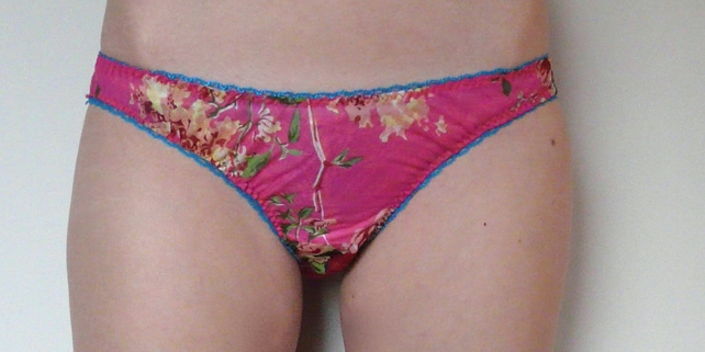 Pink Rose Knickers